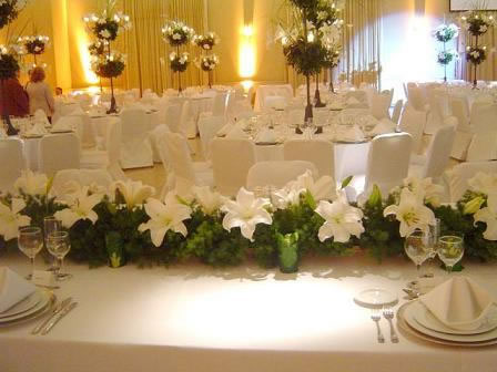 Anbar eventos bogota colombia for Arreglos para boda en salon